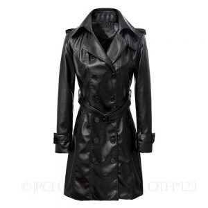 Lady-Buckled-Belted-Fitted-Mac-Soft-Womens-Jacket-_57 (8)