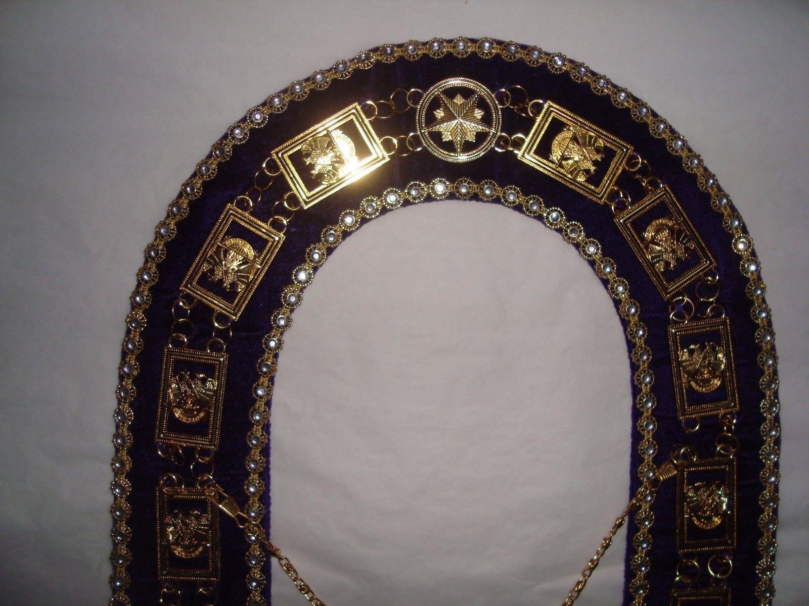 Masonic-Regalia-32-Degree-Scottish-Rite-Metal-Chain-_57