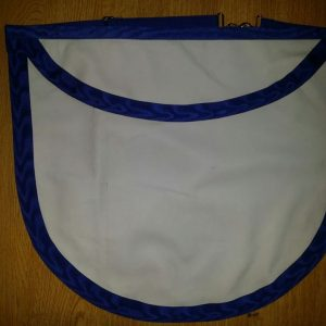Leather Lambskin Round Apron