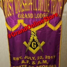 Masonic Banner, Digital Printed Banner Masonic Lodge banner