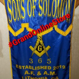 Masonic Banner, Digital Printed Banner Masonic Lodge banner Best Banner