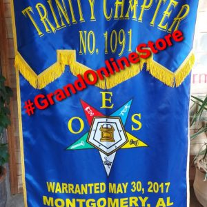 OES Banner, Order of the Eastern star chapter banner, oes chapter banner best banner Flag