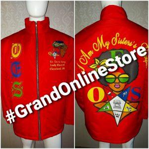 Red Shriner Jacket