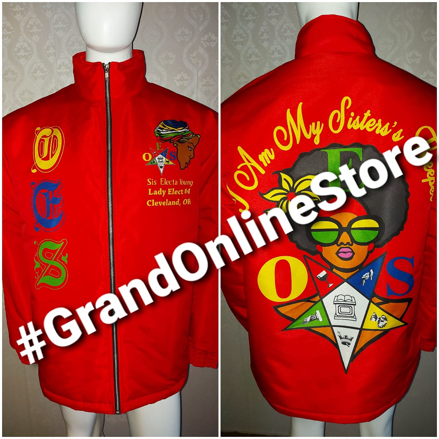 Red Shriner Jacket