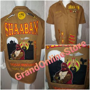 Dickie Shirt, Walking Shirt, Button up Shirt, Shaaban Temple Shirt