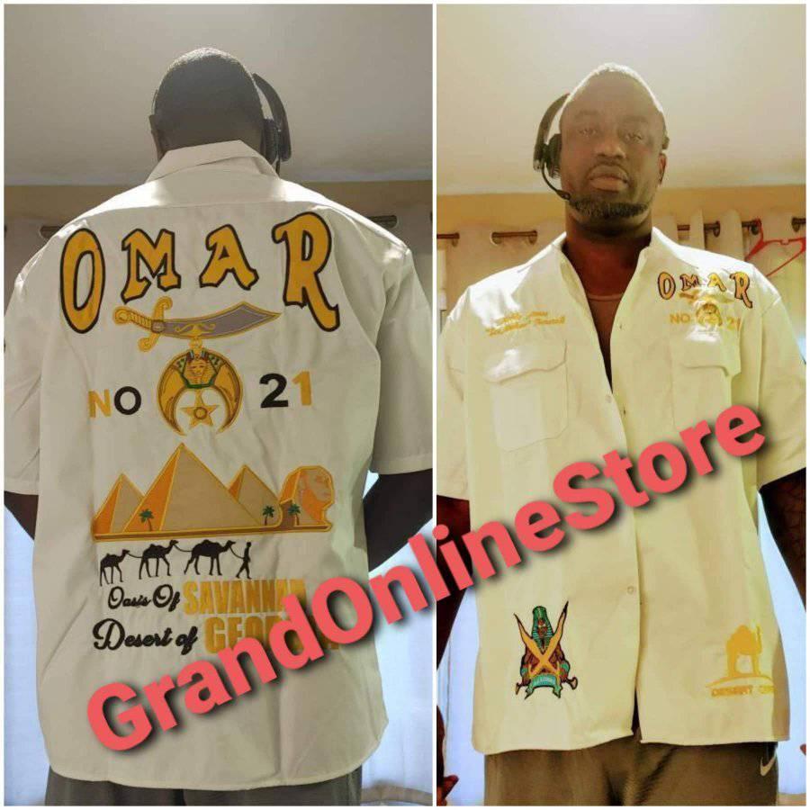 Omar Shriner Shirt Shriner Shirt Dickie Shirt Shriner